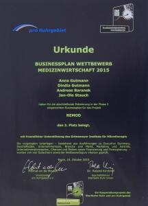 BPW Urkunde ReMoD